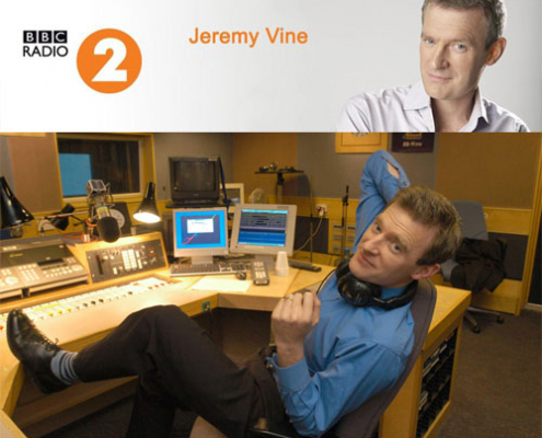 Avacs advising listeners of Jeremy Vine on his BBC Radio 2 show