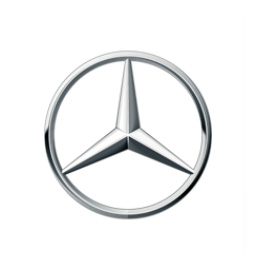 Mercedes logo for air conditioning