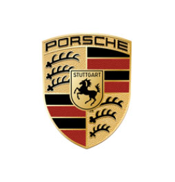 Porsche logo for air conditioning