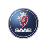 Saab logo for air conditioning