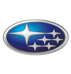 Subaru logo for air conditioning