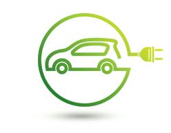 Hybrid car airconditioning repair logo